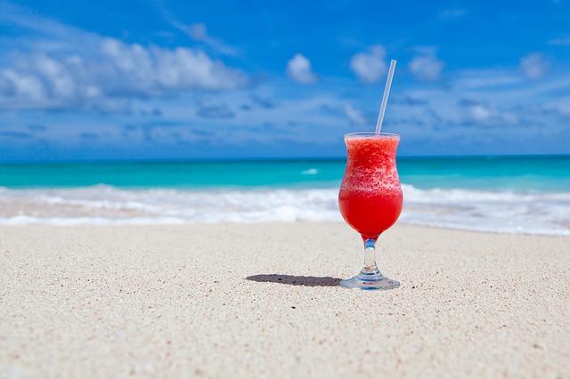 Coste de vacaciones en verano