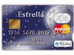 Tarjeta Master Card Estrella La Caixa