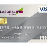 Tarjeta Visa Pro Laboral Kutxa